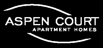 Aspen Court Logo white