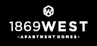 1869 West apartment Homes Logo