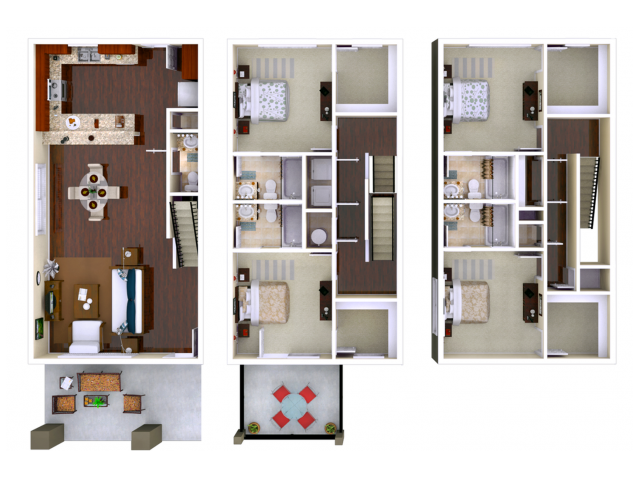 Stafford 4 Bedroom