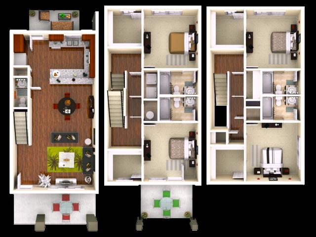 Lumpkin 44 Bedroom