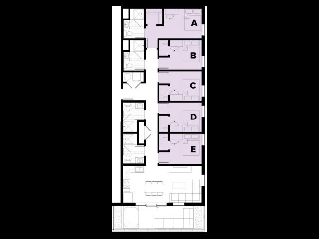 5 Bedroom Floor Plan