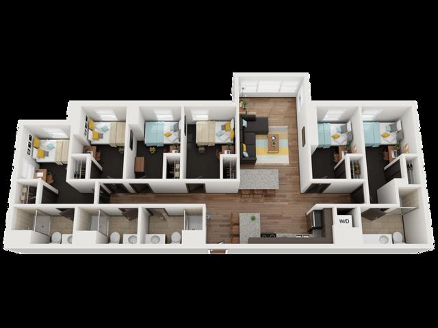 Studio 6 Bed Apartments Check Availability Landmark