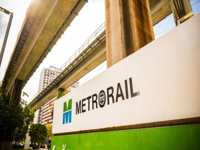 Brickell Metromover Station
