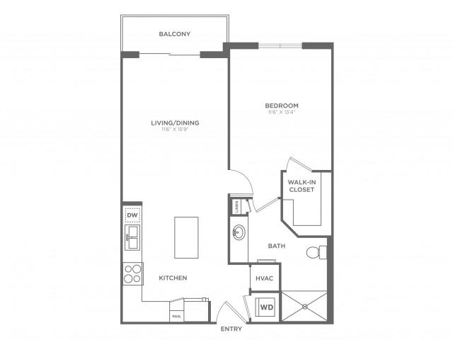 Futura | 1 bed 1 bath | from 716 square feet