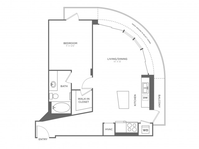 O\'Keefe | 1 bed 1 bath | from 773 square feet