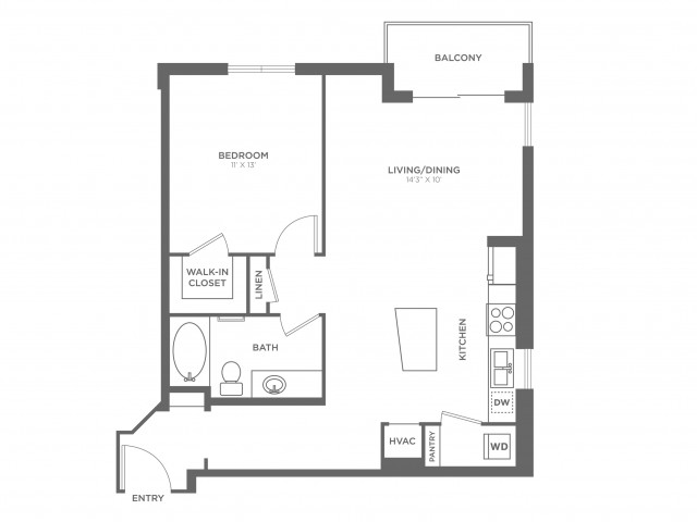 Buzzella | 1 bed 1 bath | from 778 square feet