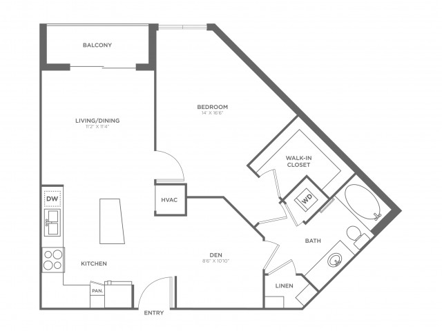 Michelangelo | 1 bed 1 bath | from 778 square feet