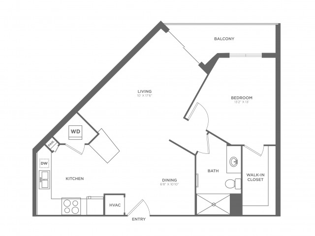 Monet | 1 bed 1 bath | from 800 square feet