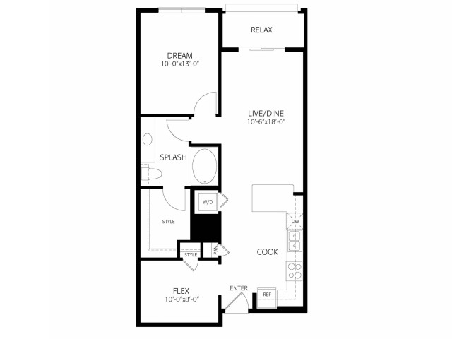 The Lambert | 1 bed 1 bath | from 806 square feet