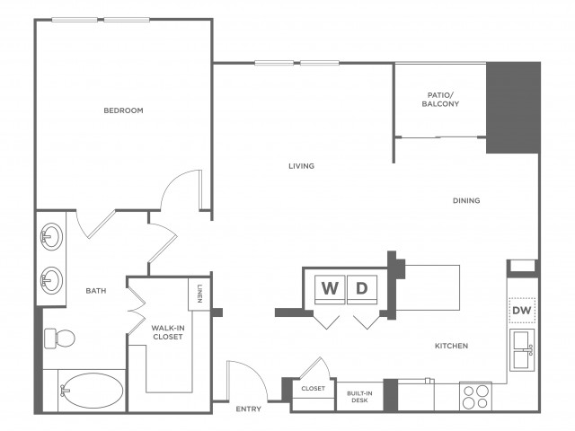 Denver | 1 bed 1 bath | from 928 square feet