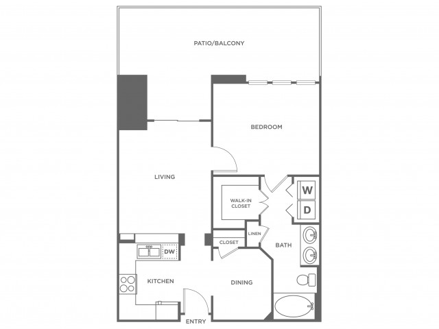 Georgetown | 1 bed 1 bath | from 1154 square feet