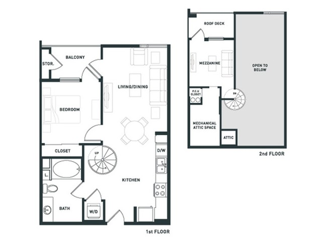 A7L | 1 bed 1 bath | from 787 square feet