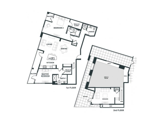 B12L | 2 bed 3 bath | from 2019 square feet