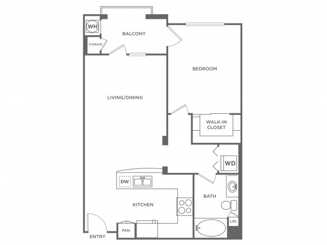 Dominica | 1 bed 1 bath | from 901 square feet