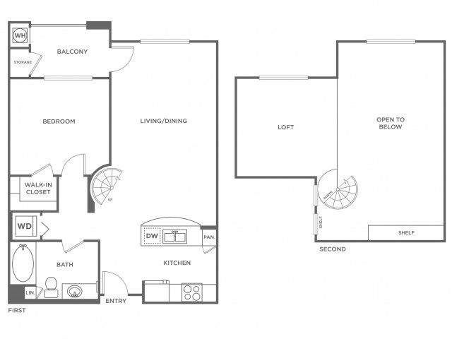 St. Barts | 1 bed 1 bath | from 915 square feet