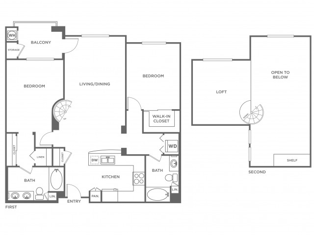 St. Croix | 2 bed 2 bath | from 1448 square feet
