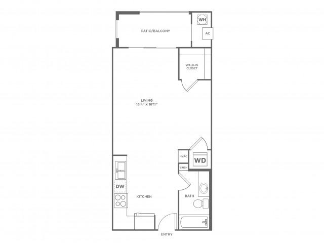 Compatability | Studio1 bath | from 524 square feet