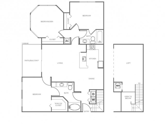 C4R | 3 bed 2 bath | from 1491 square feet