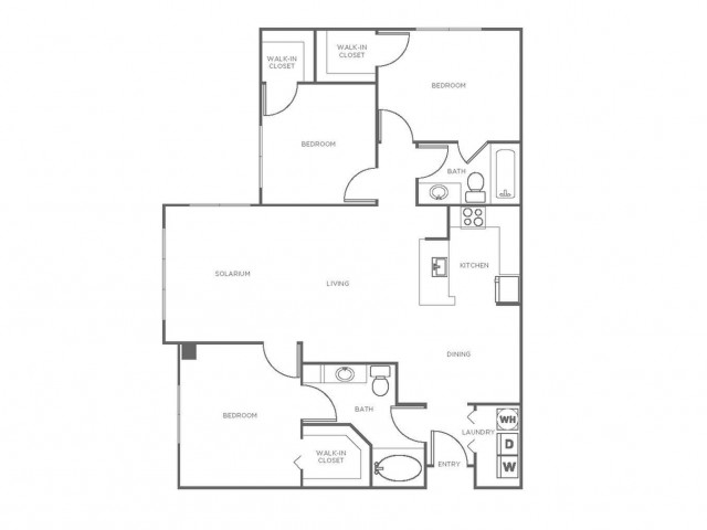 C3R | 3 bed 2 bath | from 1261 square feet