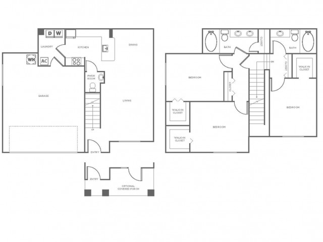 C2GIG | 3 bed 3 bath | from 1461 square feet