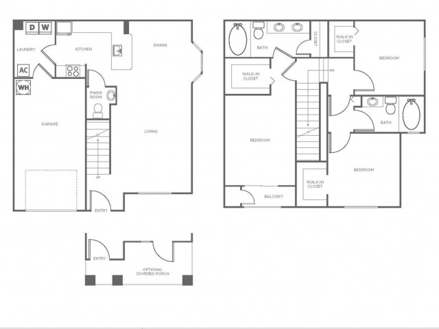C1GIG | 3 bed 3 bath | from 1379 square feet