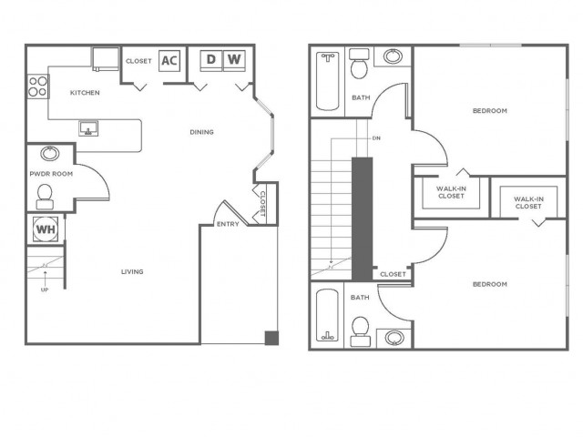 B2GIG | 2 bed 3 bath | from 1096 square feet