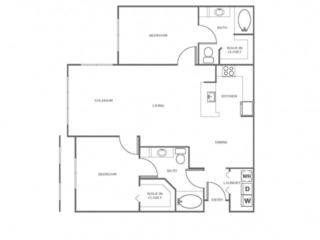 B5GIG | 2 bed 2 bath | from 1234 square feet
