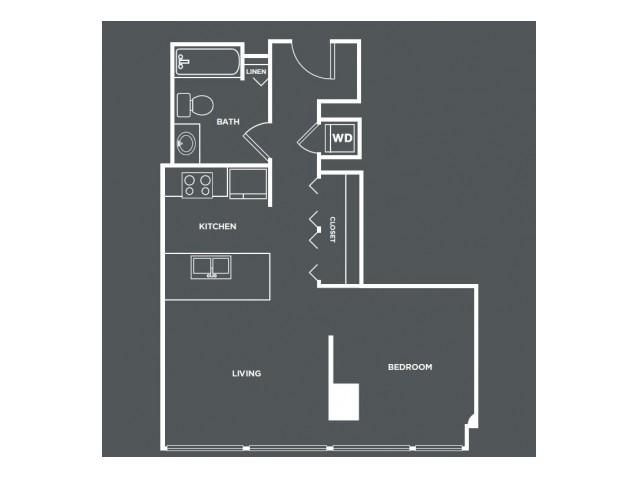 S1   Studio1 bath   from 520 square feet