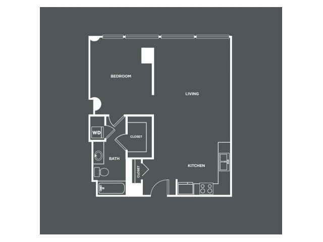 A13   1 bed 1 bath   from 794 square feet