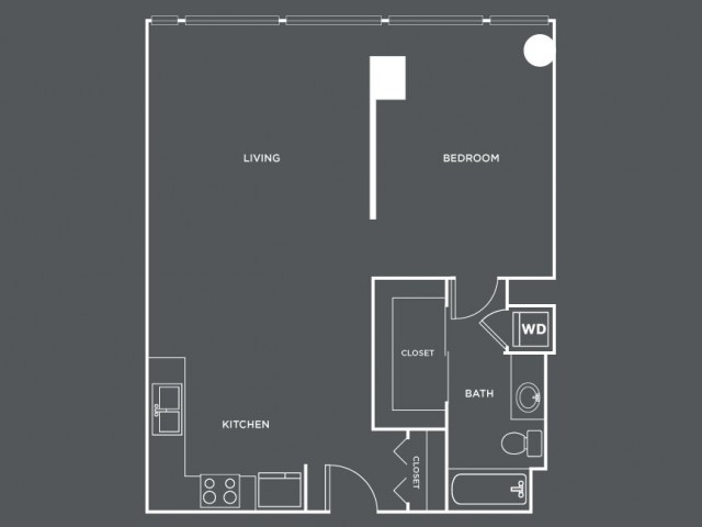 A20   1 bed 1 bath   from 778 square feet