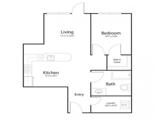 121 | 1 bed 1 bath | from 732 square feet