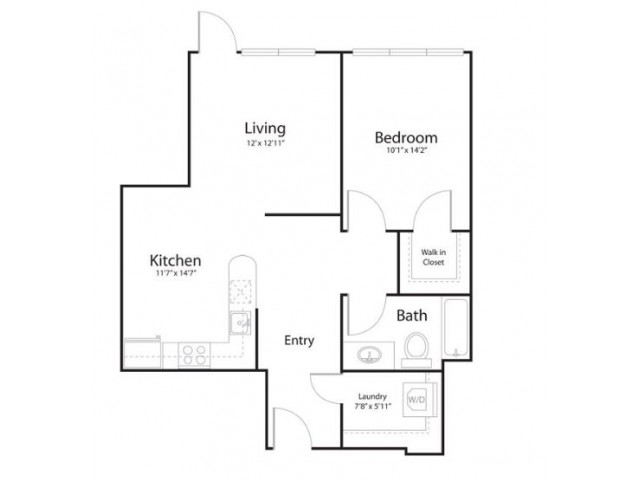 131 | 1 bed 1 bath | from 760 square feet