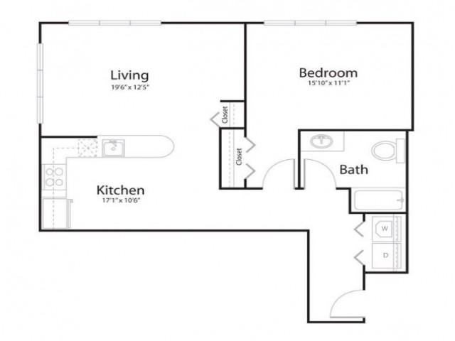 151 | 1 bed 1 bath | from 955 square feet