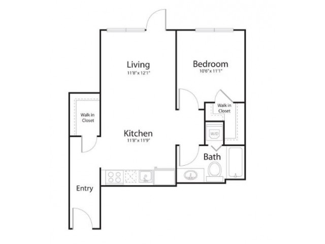 1r1 | 1 bed 1 bath | from 680 square feet
