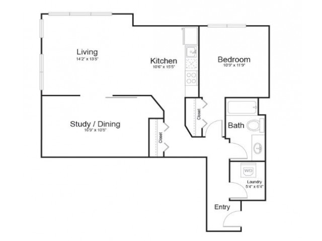 11d | 1 bed 1 bath | from 941 square feet