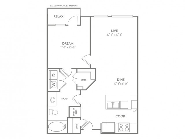 Savvy | 1 bed 1 bath | from 756 square feet