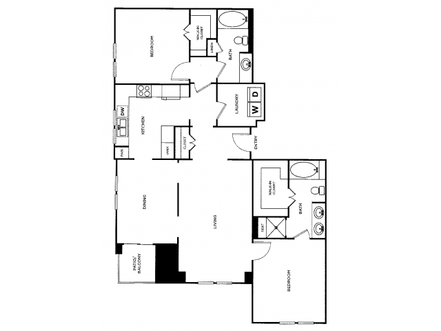 Ridgeway | 2 bed 2 bath | from 1467 square feet