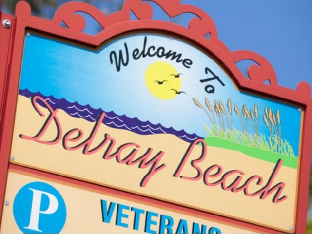 Delray Beach sign