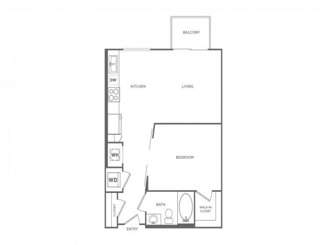 ST1 | Studio1 bath | from 640 square feet