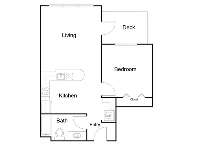111 | 1 bed 1 bath | from 728 square feet