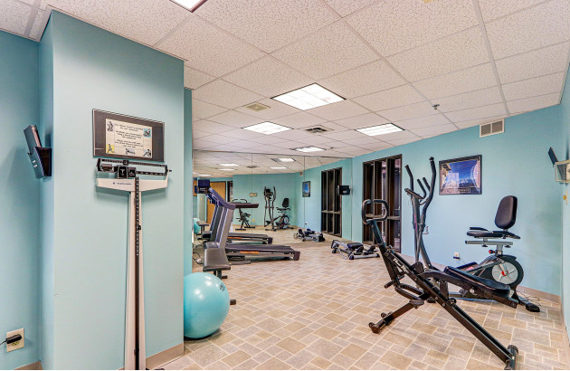 Rosehaven Manor Fitness Room