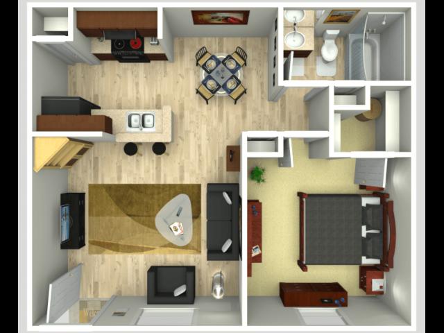 C1 Floor Plan