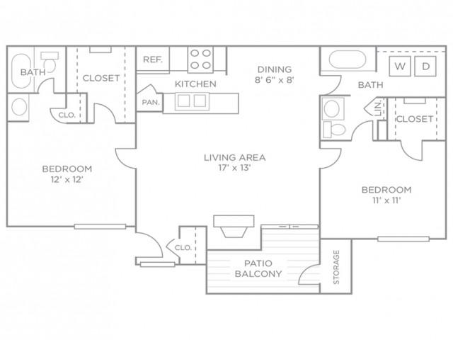 Two-Bedroom Luxury Terrace