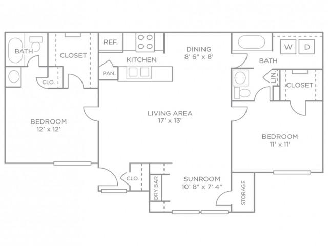 Two-Bedroom Luxury