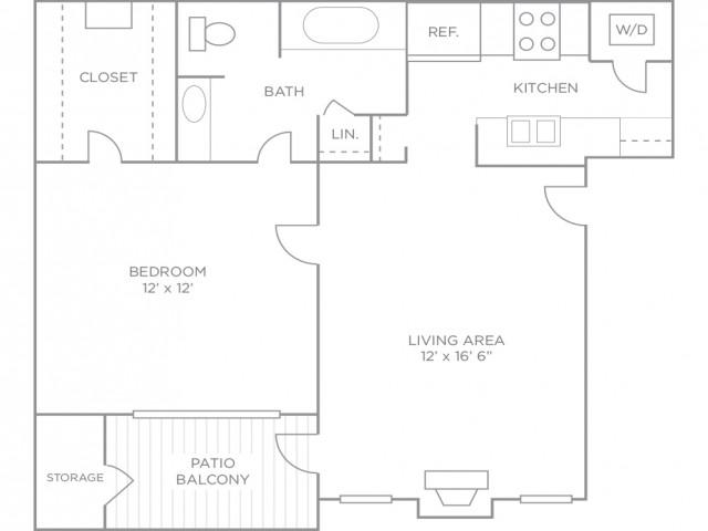 One Bedroom Luxury Terrace Renovated