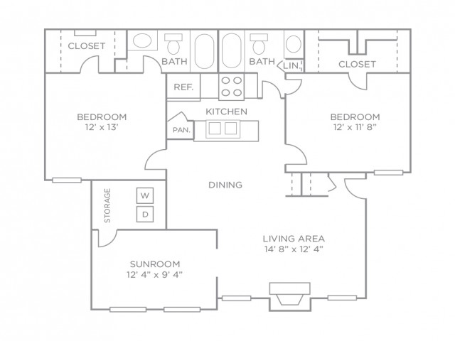 Two Bedroom Premiere-Renovated