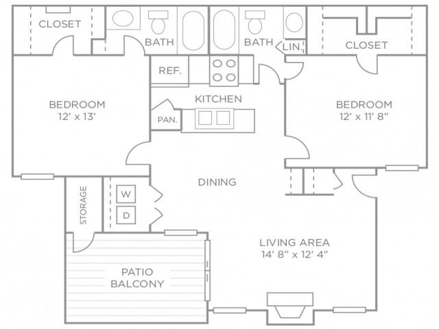 Two Bedroom Premiere Terrace