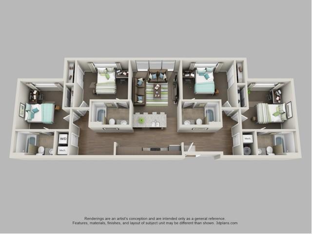 D2 Floor Plan