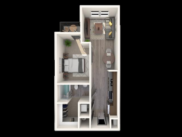 The Cadence E1 Floor Plan