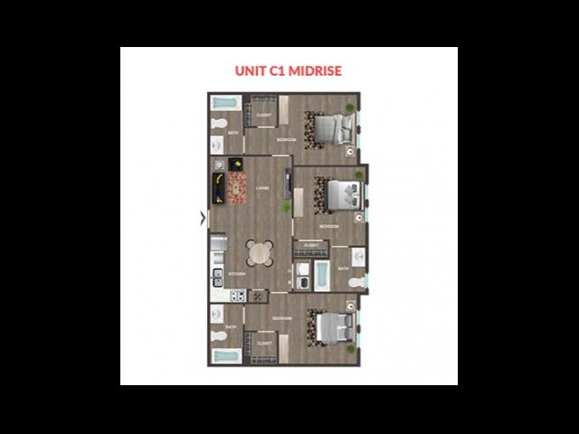 Unit C1 Midrise